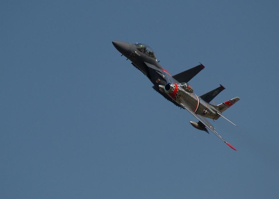 photoblog image F15 & F86